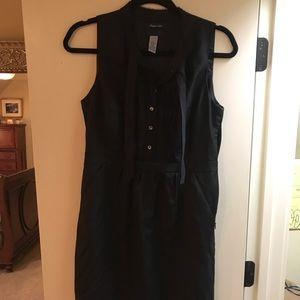 J. Crew Black Sleeveless Dress